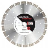 Spectrum MCX Supercut 350x25.4mm Diamond Blade (MCX350/25)